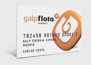Tarjeta de descuento GALP FLOTA BUSINESS