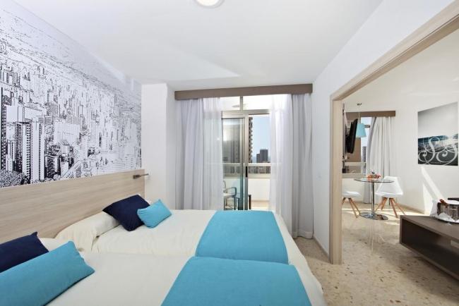Habitación doble del Flamingo Beach Resort