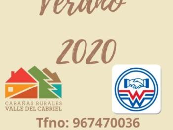 Oferta Especial Cabañas Rurales Valle del Cabriel y Balneario de la Concepción