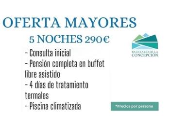 Balneario de la Concepción + 60 – Oferta especial 5 Noches